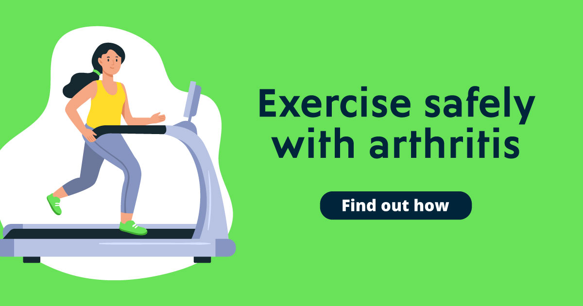 Exercise safely with arthritis. Find out how