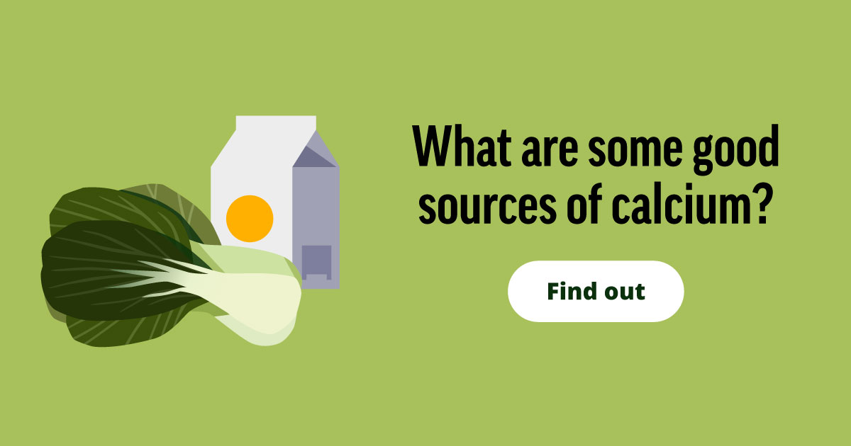 What are some good sources of calcium? Find out