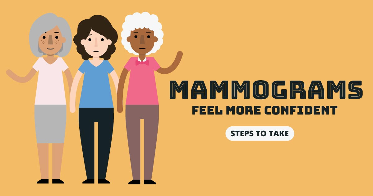 Mammograms - feel more confident. Steps to take.